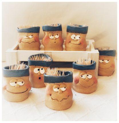 palilleros de ceramica